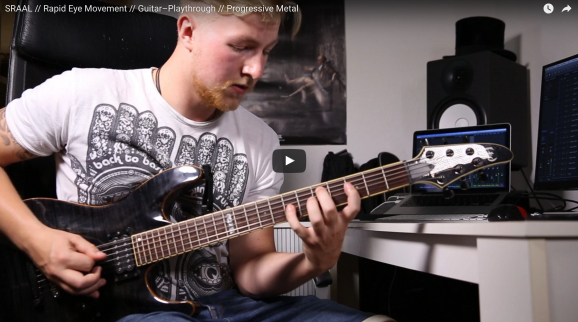 SRAAL Progressive Metal Projekt Guitar-Playthrough